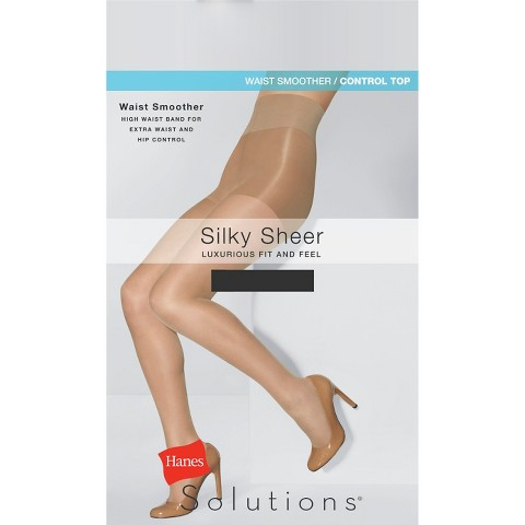 Hanes Solutions® Women's Silky Sheer Waist Smoother Hosiery