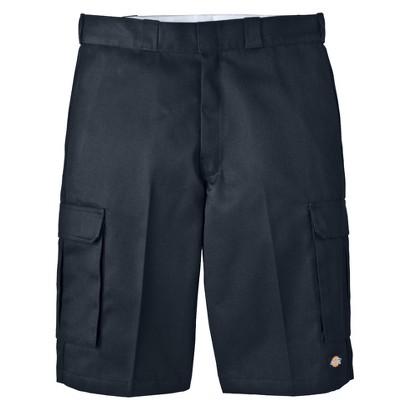"Dickies® Men's 13"" Loose Fit Cargo Shorts - Black"