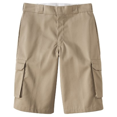 "Dickies® Men's 13"" Loose Fit Cargo Shorts - Desert Sand"