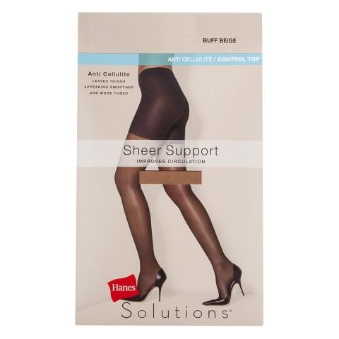 Hanes Solutions® Women's Sheer Support Control Top Hosiery