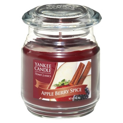 Yankee Candle Company Red Jar Apple Berry  - Regular
