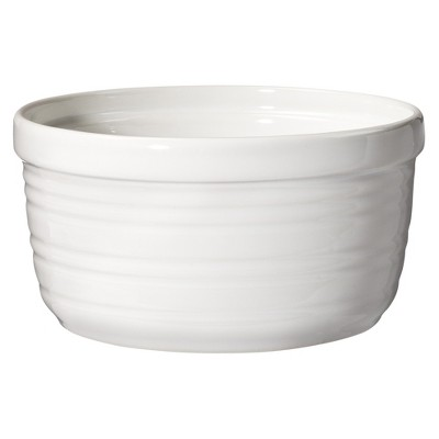 ECOM Threshold™ Horizontal Striped Ramekin Set of 4 - White (Large)
