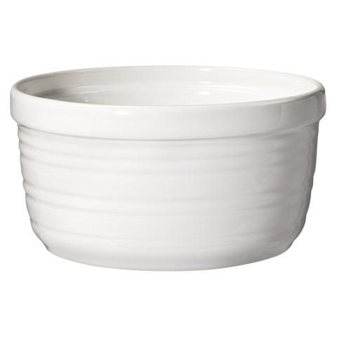 Threshold™ Horizontal Striped Ramekin Set of 4 - White (Large)
