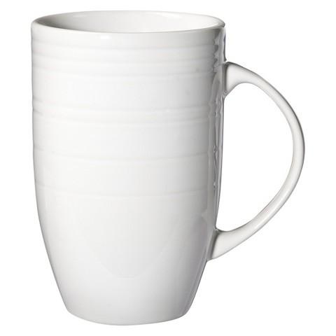 Threshold™ Stripe Latte Mug Set of 4 - White