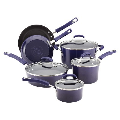Rachael Ray 10 Piece Porcelain II Set - Purple