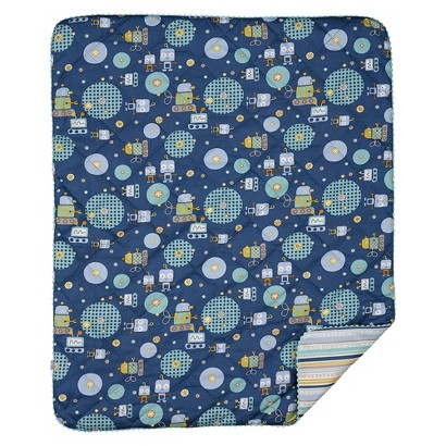 Lolli Living Quilted Comforter - Robot