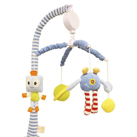 Lolli Living Crib Mobile - Robot