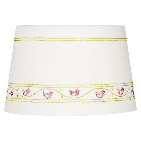 Lolli Living Lamp Shade - Embroidered Birds