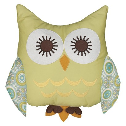 Lolli Living Baby Character Pillow - Tree Owl