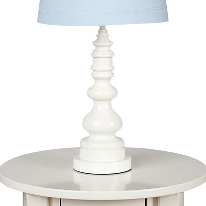 Lolli Living Lamp Base - White Spindle