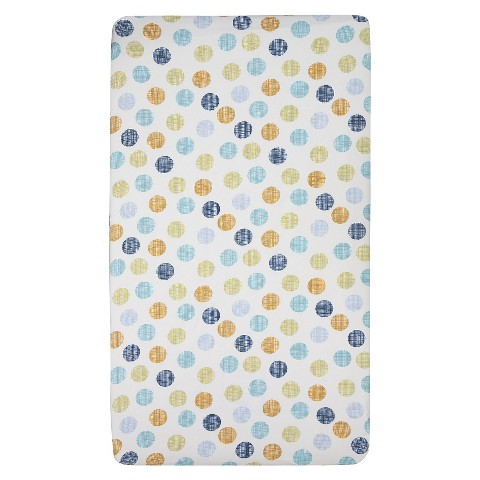 Lolli Living Crib Fitted Sheet - Bot Dot