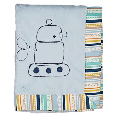 Lolli Living Boa Blanket - Robot/Galaxy
