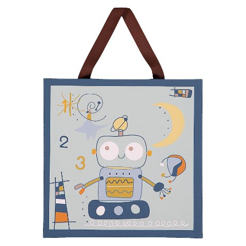 Lolli Living Baby Canvas Art - Robot 1-2-3