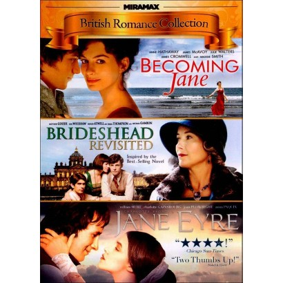 British Romance Collection: Becoming Jane/Brideshead Revisited/Jane Eyre (Widescreen)