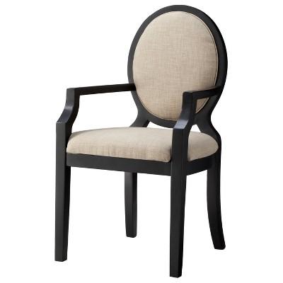 Morris Oval Back Arm Chair - Toast