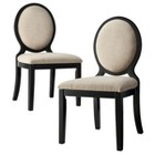 Morris Oval Back Dining Chair Wood (Set of 2)