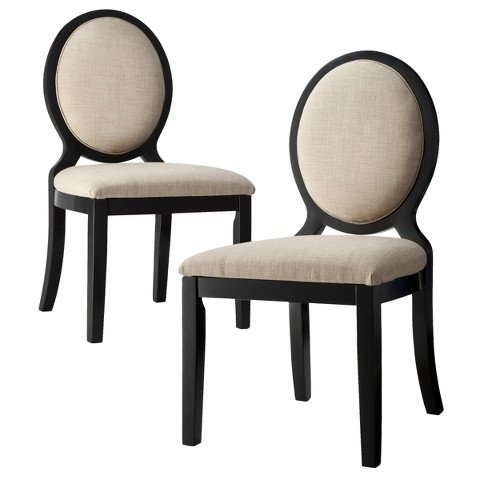 Kinfine Morris Oval Back Dining Chair - Set of 2