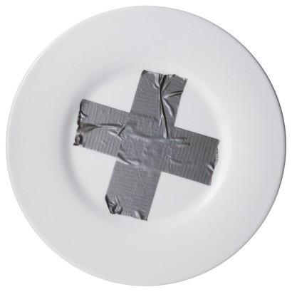 TOO by Blu Dot Fix Salad Plate Set of 4