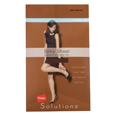 Hanes Solutions® Women's Sheer Control Top Hosiery - Assorted Colors