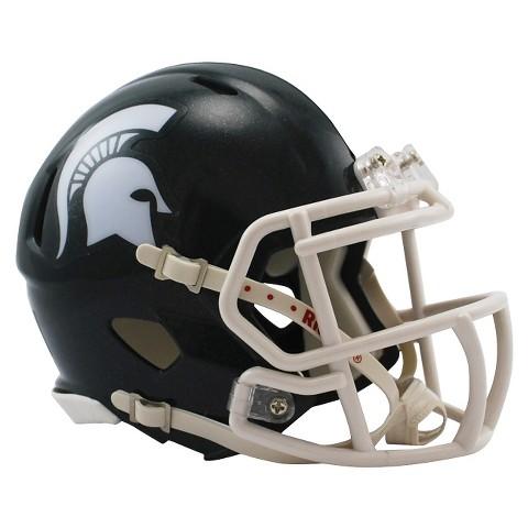 Michigan State Spartans Riddell Speed Mini Helmet - Green