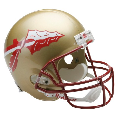 Florida State Seminoles Riddell Deluxe Replica Helmet - Gold