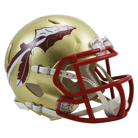 Florida State Seminoles Riddell Speed Mini Helmet - Gold