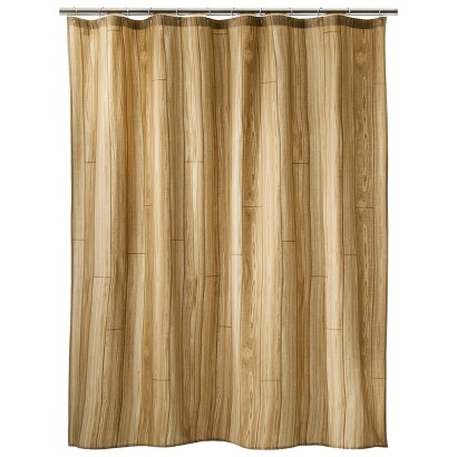 Too By Blu Dot Wood Texture Chuck Shower Curtain - 72x72""