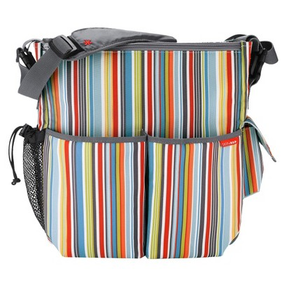 Skip Hop Duo Essential Diaper Bag Metro Stripe