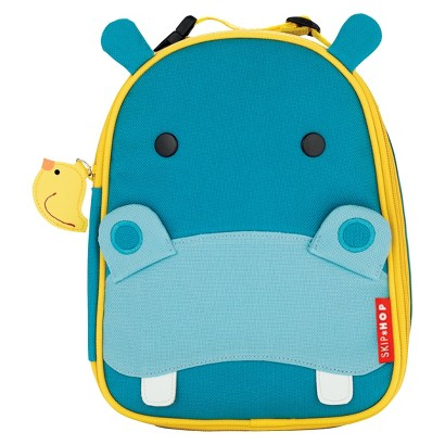 Skip Hop Zoo Lunchie Kids and Toddler Insulated Lunch Bag Hippo