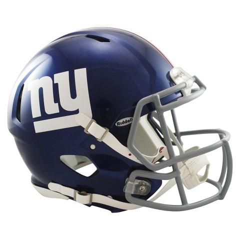 New York Giants Riddell Speed Authentic Helmet - Navy