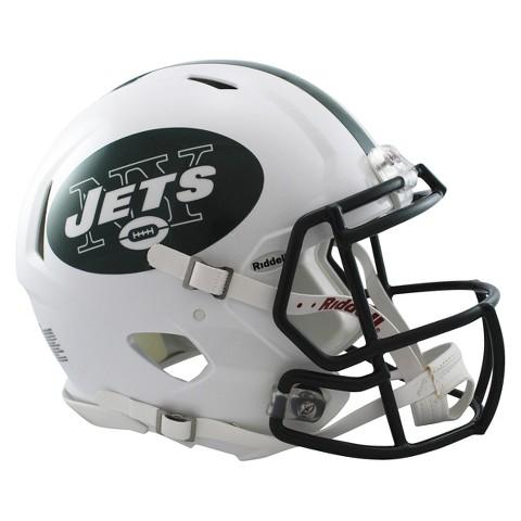 New York Jets Riddell Speed Authentic Helmet - White