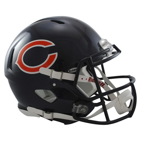 Chicago Bears Riddell Speed Authentic Helmet - Navy
