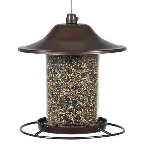bronze Small Panorama Seed Feeder