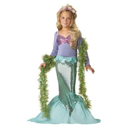 Toddler/Girl's Lil' Mermaid Costume