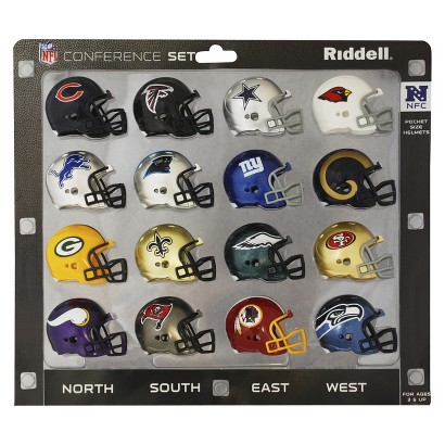 Riddell NFL Pocket Pro NFC Conference Set