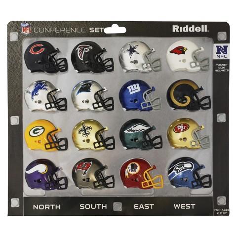 NFL Riddell Pro NFC Conference Set