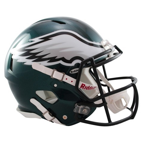 Philadelphia Eagles Riddell Speed Authentic Helmet - Green