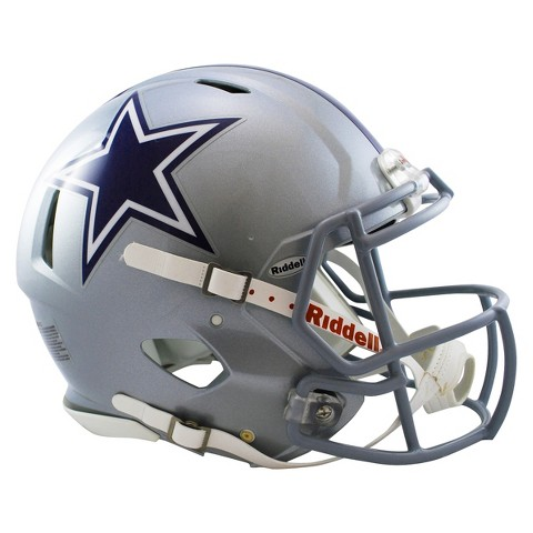 Dallas Cowboys Riddell Speed Authentic Helmet - Silver