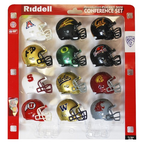 NCAA Riddell PAC 12 Pocket Pro Conferee Set