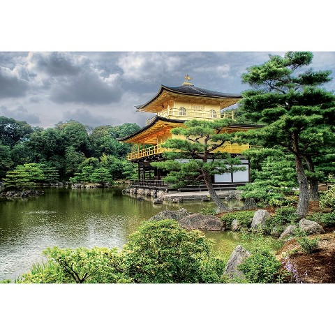 John N. Hansen Educa Temple of the Golden Pavilion 2000 Piece Puzzle