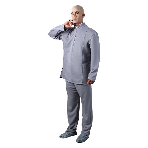 Men's Austin Powers Dr. Evil Deluxe Plus Costume - XXL