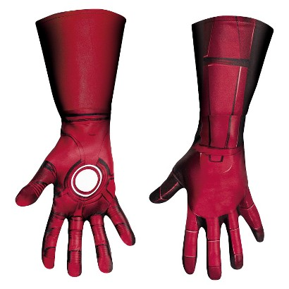 Adult The Avengers Iron Man Mark VII Deluxe Gloves - One Size Fits Most