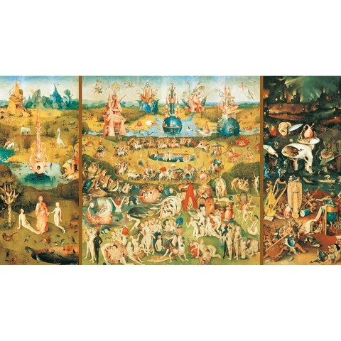 John N. Hansen Educa 9000 Piece Puzzle - The Garden of Earthly Delights
