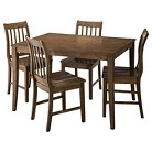 Winfield 5-Piece Dining Set - Driftwood Grey Wash Finish