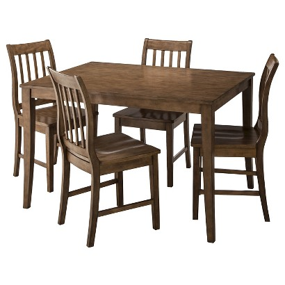 Winfield 5-Piece Dining Set - Driftwood Grey Wash Finish