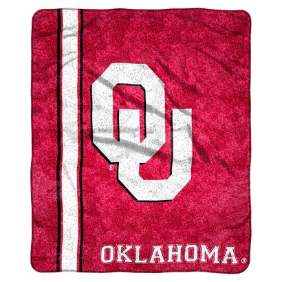 Oklahoma Cowboys Sherpa Throw