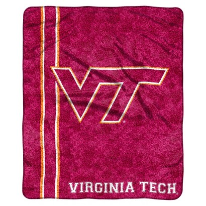Virginia Tech Hokies Sherpa Throw