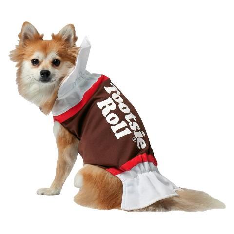 Tootsie Roll Pet Costume