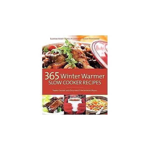 365 Winter Warmer Slow Cooker Recipes (Reprint) (Paperback)