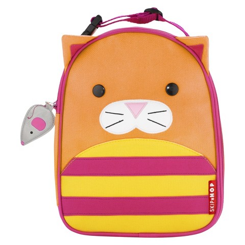 Skip Hop Zoo Little Kids & Toddler Insulated Lunch Bag - Cat